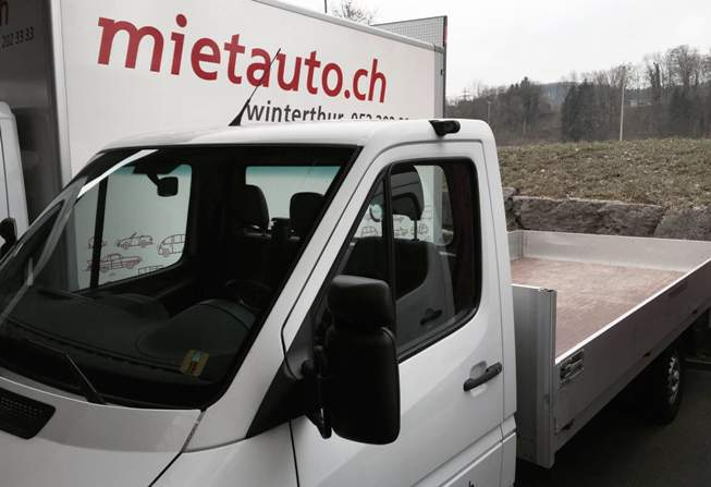 mietauto ag autovermietung winterthur lieferwagen occasionen. Black Bedroom Furniture Sets. Home Design Ideas